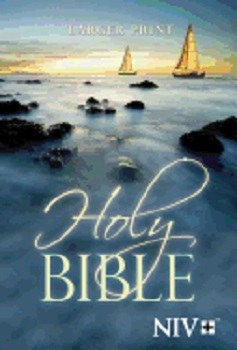 NIV Large Print Paperback Bible