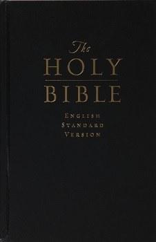 ESV Pew & Worship Bible - Black Hardcover