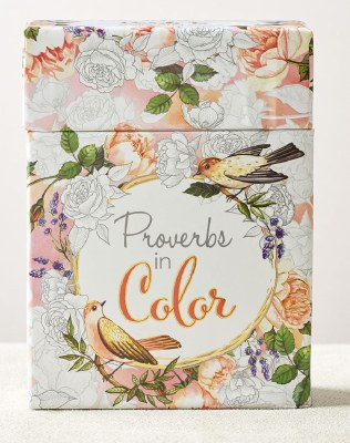 Coloring Cards - Proverbs