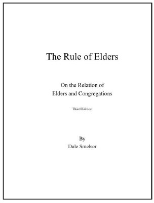 The Rule of Elders