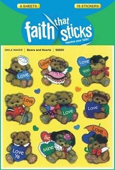 Bears and Hearts: Faith That Sticks