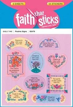 Psalms Signs: Faith That Sticks