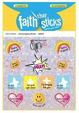 Stickers, Encouraging Words
