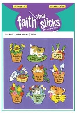Stickers, God's Garden