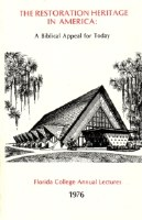 1976 Lecture Book - Restoration Heritage in America