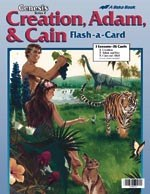 Abeka Flash-a-Cards: Creation, Adam, and Cain