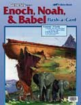 Abeka Flash-a-Cards: Enoch, Noah, and Babel