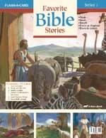Abeka Flash-a-Cards: Favorite Bible Stories (Series 1)