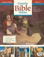 Abeka Flash-a-Cards: Favorite Bible Stories (Series 2)