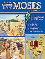 Abeka Flash-a-Cards: The Life of Moses (Series 3): Journey through the Wilderness