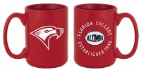 Red Florida College Alumni Mug