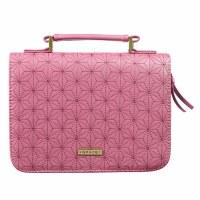 Grace Dusty Rose Pink Faux Lea