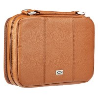 BIBLE COVER-Tan Full Grain M