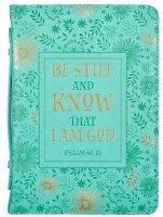 Bible Cover - Be Still M