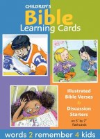 Children's Bible Learning Cards