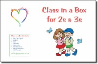 Shaping Hearts for God: Class in a Box for 2s & 3s