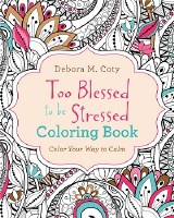 COLORING BOOK TOO BLESSED TO