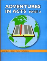 Discovering God's Way Primary 3-2 Adventures in Acts (2)