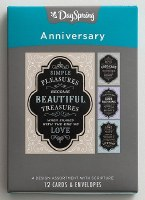 CARD BOXED, ANNIVERSARY CHALK