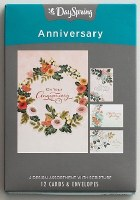CARD BOXED, ANNIVERSARY FLOWER