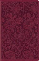 ESV Compact Bible Large Print- Floral Design