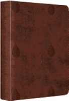 ESV Journaling Bible Brown Leaves Single Column