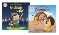 Samson and Gideon Flip Over Book