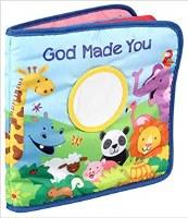 God Made You Cloth Book