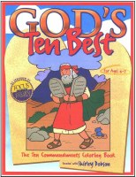 God's Ten Best - Coloring Book