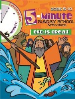 5 Minute Sunday School Activities: God is Great