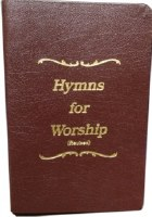 Hymns for Worship Revised 18th Edition Burg Leather