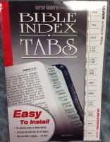 Index Tabs- Verse Finders Horizontal Silver