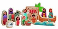 Jesus & Friends Wood Play Set