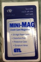 MAGNIFIER, MINI-MAG WALLET