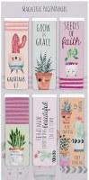 Magnetic Bookmark Set - Cactus