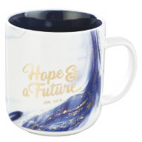 Mug - Blue Hope & a Future Cof