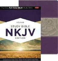 NKJV Holman Study Bible- Purple