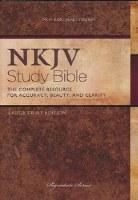 NKJV Nelson Large Print Study Bible