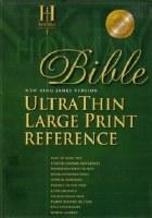 NKJV Ultrathin Large Print Bible- Burgundy