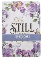 Notebook Set Be Still and Know