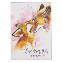 Notepad Love Never Fails