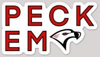 Sticker, Custom Design,PECK EM