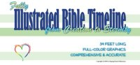 Shaping Hearts for God: Illustrated Bilble Timeline Mini