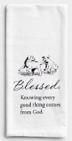 Tea Towel - Blessed Puppies