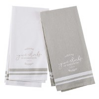 Tea Towel  Set Give Thanks