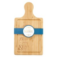 Bamboo Cutting Board with Hand
