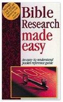 Bible Research Made Easy