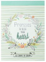 Coloring Cards - Promises to Bless Your Heart