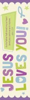 Bookmark-Jesus Loves You