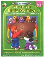 Dot-to-Dot Bible Pictures  (PK-K)